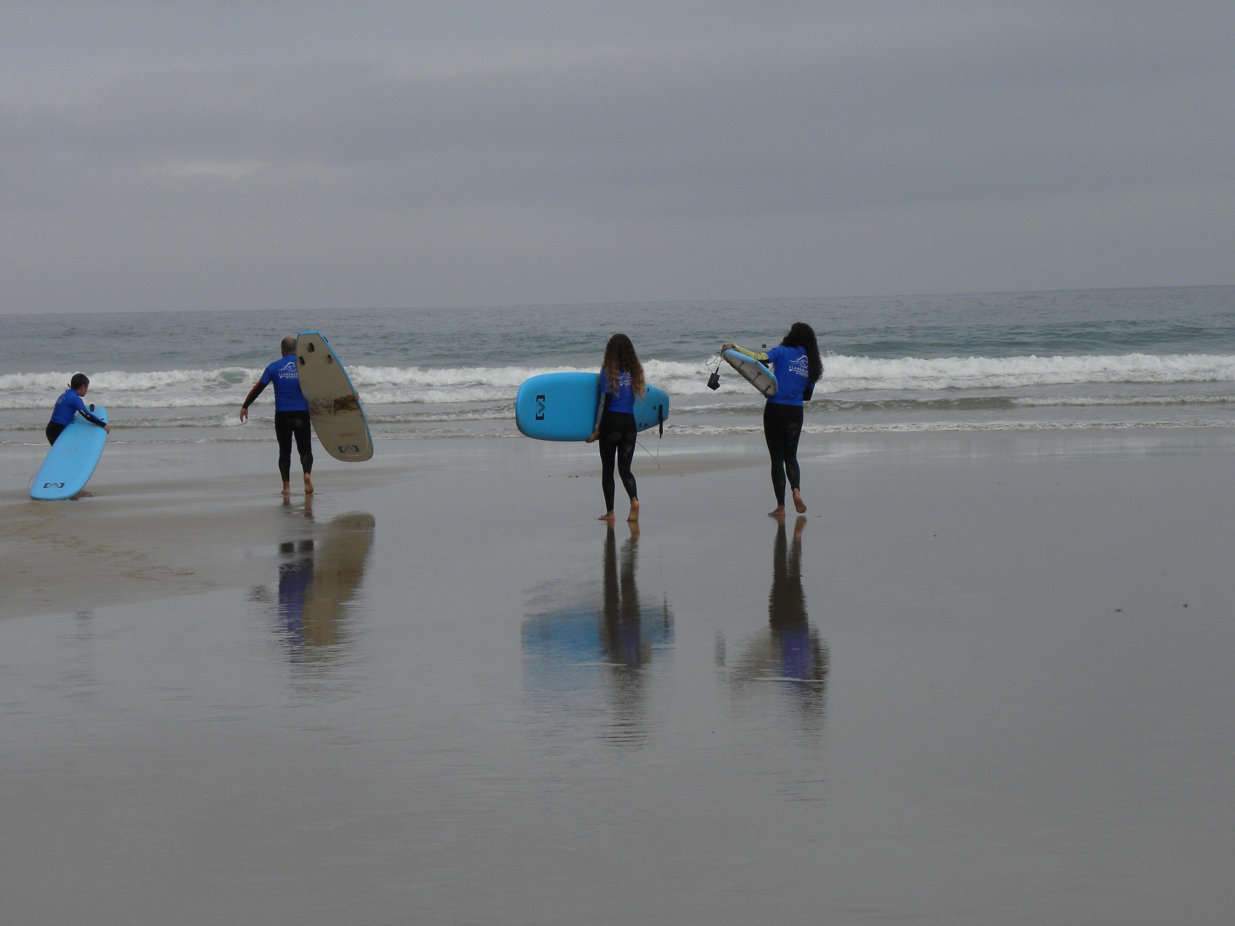 Clases de surf en Llanes