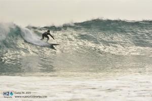 Monitor de la escuela Llanes Surf & Aventura