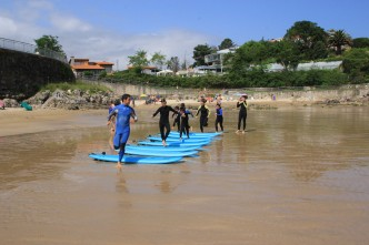 Escuela de surf. Clases de surf