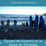 Escuela de surf Llanes. Equipo Llanes Surf & Aventura