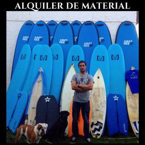 ALQUILER DE MATERIAL